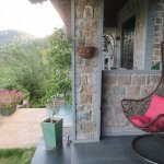 Porch outside the room