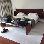 Bed, room 418