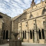 Claustro de la Catedral Nueva de Plasencia.
