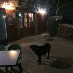 Le gros chien noir