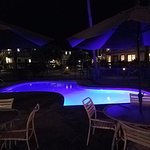 Kauai Pool at night