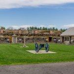 A l'intérieur du fort -