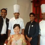 the manager, chefs and staff