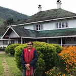 Lovely resort and right opposite u can see our great Kanchenjunga range