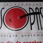 Restaurant sign.