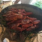 Summer Lobster Bake buffet included one full lobster, but everything else was all you can eat.