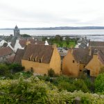 Culross Palace from the back, looking towards Bo'ness