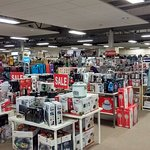 Electrical goods and crockery