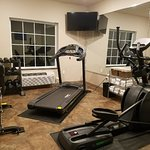 This is a picture of the hotel fitness room