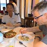 Deep Fried fish & Noodles