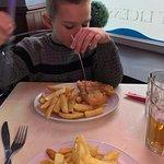 Loved his Chippy Dinner