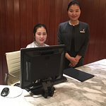 Executive lounge manager Summer will help with everything!