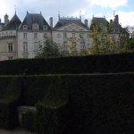 le château depuis le jardin du bas
