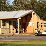 The new location at the Hidden Oaks Golf Course, Granbury