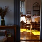 All room rates feature a gourmet breakfast in the sunny dining room