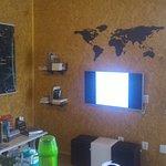 O mapa na parede, simplesmente demais!