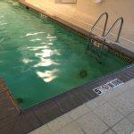 Smaller indoor pool
