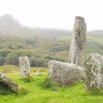 Misty Morning at Glenchaquin Stone Circle