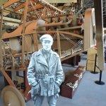 Replica Curtis Biplane Engine