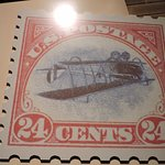 The Famous Inverted Jenny Postage Stamp-Worth a Small Fortune