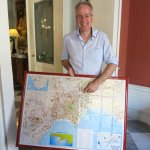 "Out terrific host, Ken with ""the big map"" of Naples, so helpful with orientation."