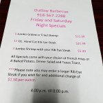 Friday and Saturday night specials