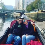 our gondola ride- fun times with our older son