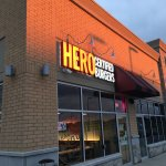 Food at Hero Burgers Jefferson