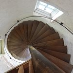 Stairs inside light house