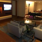 Living room in Premier Suite