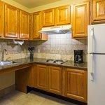 One Bedroom Suite Kitchen (accessible)