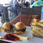 Sliders with Fries by the Water- 15th Street Fisheries