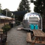 airstream lot with outside amenities
