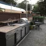 airstream outside kitchen