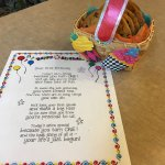 Birthday Note & Cookie Basket