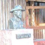 HONDO Statue, Luckenbach, Texas