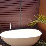 Outdoor bath a sensation