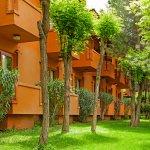 Hotelimiz doğa ile iç içe, birbirine bağlantılı anabina ve bloklardan oluşmaktadır.