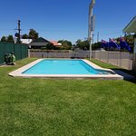 Great secure pool area