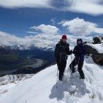 Alpine lakes helihike