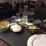 Recommend trying an assortments of curries