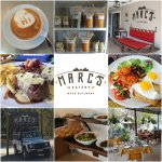 Photo collage Marc's Eatery.