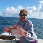 First red snapper!