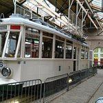 reproduction of an old traditional dutch tram