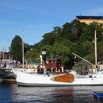 Stockholm, Skeppsholmen, quayside
