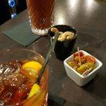 Cocktails au bar