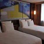 Chambre standard deux. Grand lit