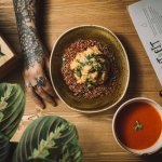Oryza Rice and Tomato Cream Soup