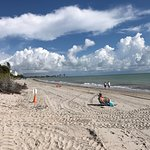 The beach at the Ritz-Carlton, Key Biscayne