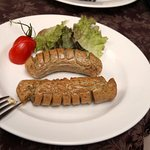 Наш завтрак: Баварские колбаски